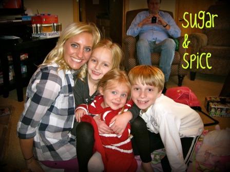 My precious nieces and nephew