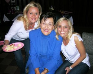 Mom, Granny and me
